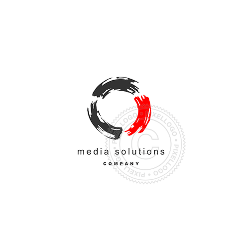 Art Media-Logo Template-Pixellogo