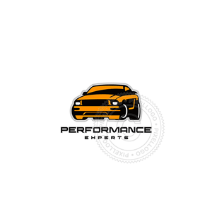 Performance Cars-Logo Template-Pixellogo