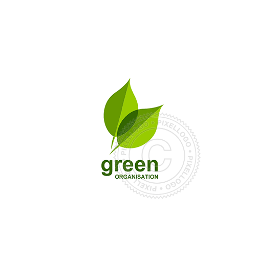 Green Leaf - Pixellogo