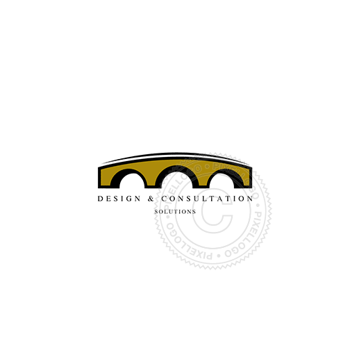 Stone Bridge-Logo Template-Pixellogo