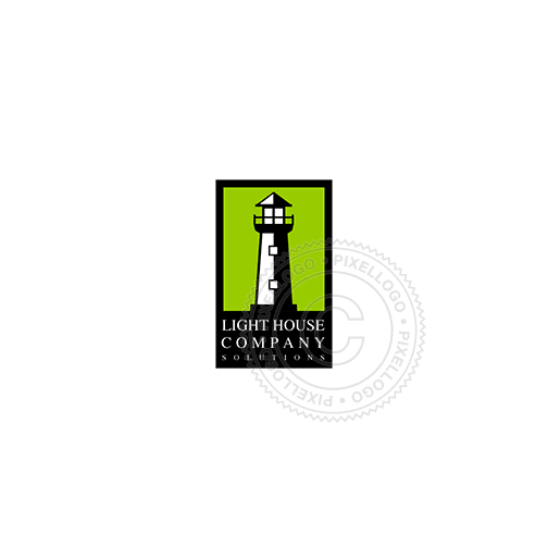 Lighthouse Book shop-Logo Template-Pixellogo