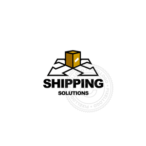 Drop Shippers-Logo Template-Pixellogo