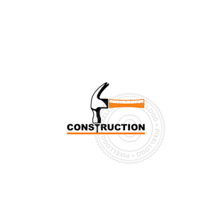 Carpenter logo - Construction hammer logo | Pixellogo