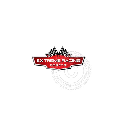 Racing Badge-Logo Template-Pixellogo