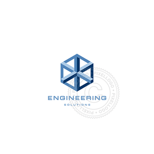 Steel Engineering-Logo Template-Pixellogo