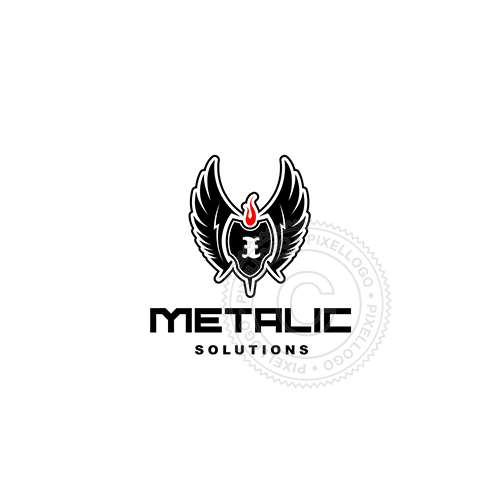 Black Wings-Logo Template-Pixellogo