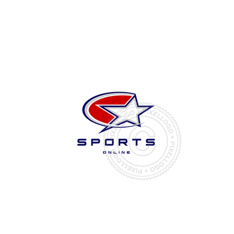 Sports Apparel - Pixellogo