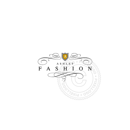 Women's Fashion Line-Logo Template-Pixellogo