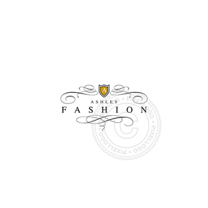 Women's Fashion Line - Pixellogo