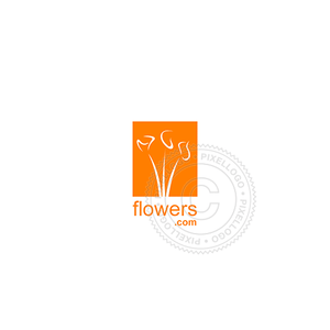 Flower Shop - Pixellogo