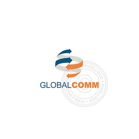 Global Shipping Solutions-Logo Template-Pixellogo