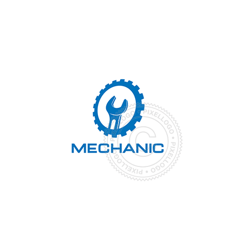 Mechanic-Logo Template-Pixellogo