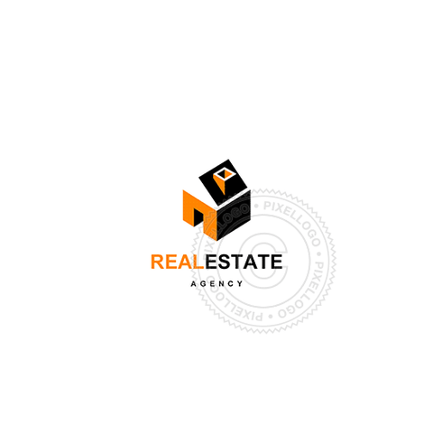 Real Estate Agency-Logo Template-Pixellogo