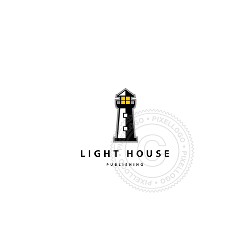 Lighthouse-Logo Template-Pixellogo