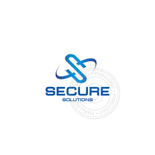 Secure Technology Solutions Logo Design - Pixellogo