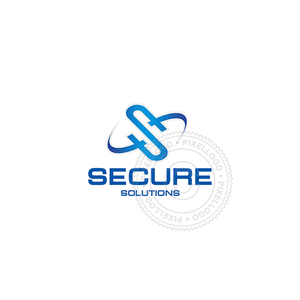 Secure Technology Solutions-Logo Template-Pixellogo