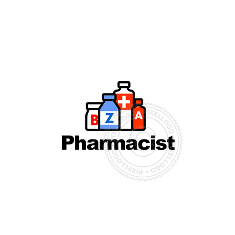 Pharmacy-Logo Template-Pixellogo