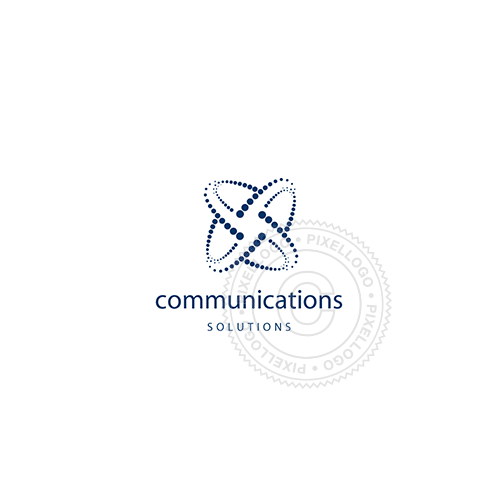 Satellite Communication-Logo Template-Pixellogo
