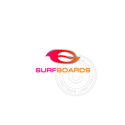 Water Sports Apparel-Logo Template-Pixellogo