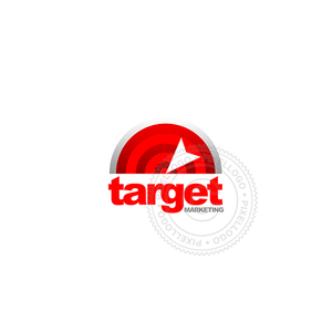 Retarget Marketing-Logo Template-Pixellogo
