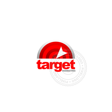 Retarget Marketing - Pixellogo