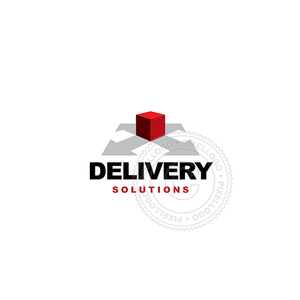 Drop Shipping Solutions-Logo Template-Pixellogo