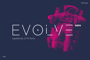 Made-evolve free font