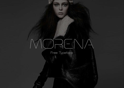 Morena Display Free Font