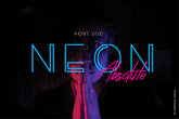 Neon Absolute Free Font Demo