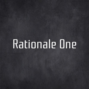 Rationale-one free font - Pixellogo
