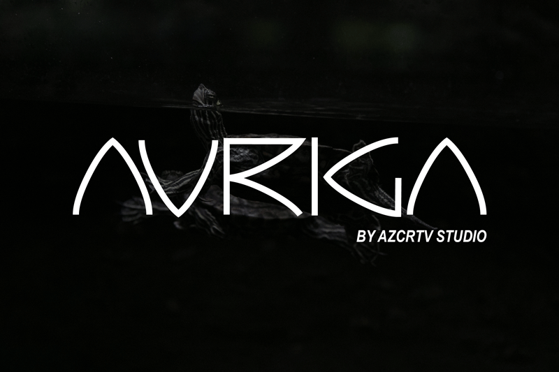 Auriga Display Free Font