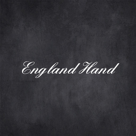 England hand free font