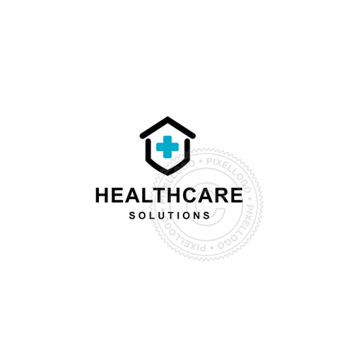Healthcare Center - Pixellogo