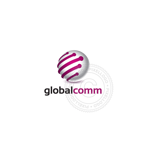 Cable Communication-Logo Template-Pixellogo