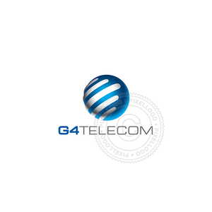 Communication tech - Pixellogo