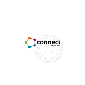 Mobile Connect-Logo Template-Pixellogo