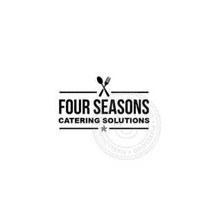 Food Catering - Pixellogo