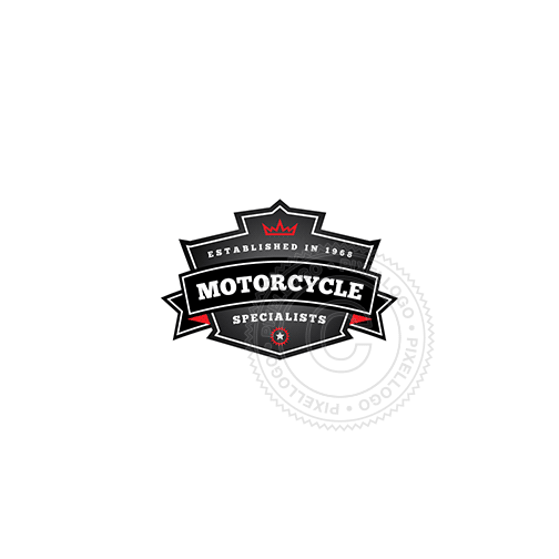Motorcycle Club Emblem - Pixellogo