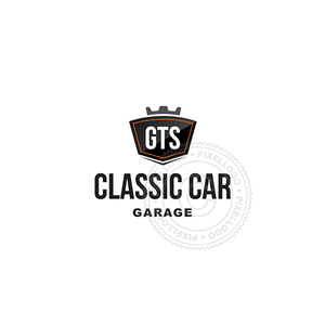 Custom Car Emblem-Logo Template-Pixellogo