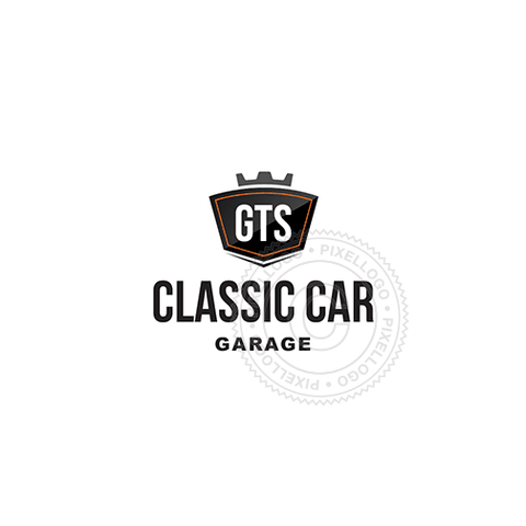 Custom Car Emblem - Pixellogo