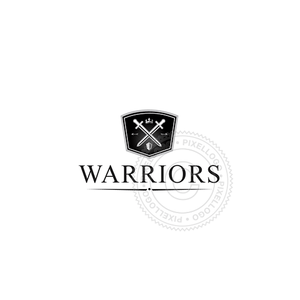 Warrior Shield - Pixellogo
