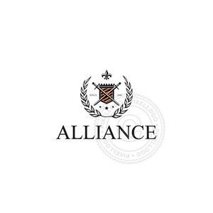 Alliance Shield Crest - Pixellogo