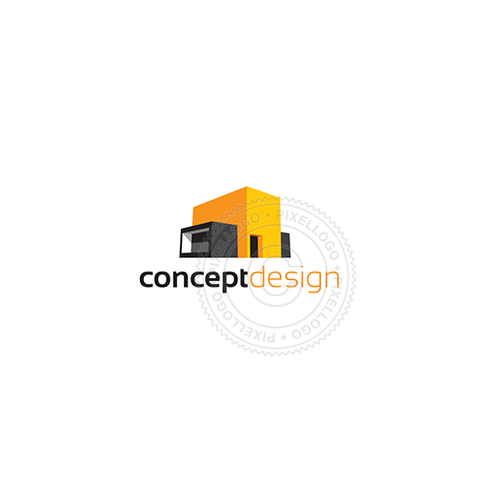 Modular Homes-Logo Template-Pixellogo