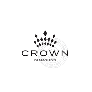 Diamond Crown - Pixellogo