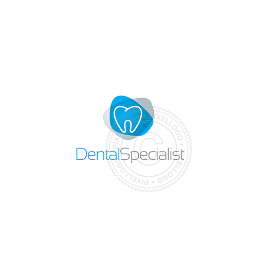 Orthodontics, dental clinic - Pixellogo