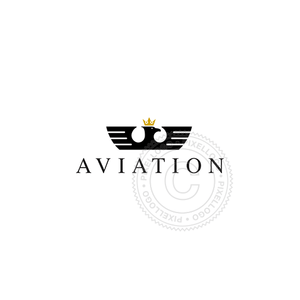 Aviation Solution Eagle - Pixellogo