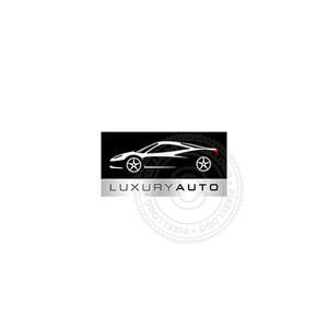 Luxury Auto Dealers-Logo Template-Pixellogo