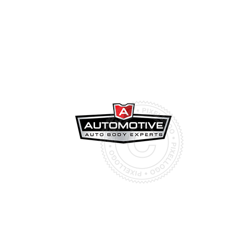 Auto Racing Team-Logo Template-Pixellogo