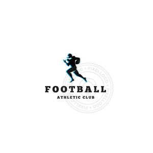 Football Sports-Logo Template-Pixellogo