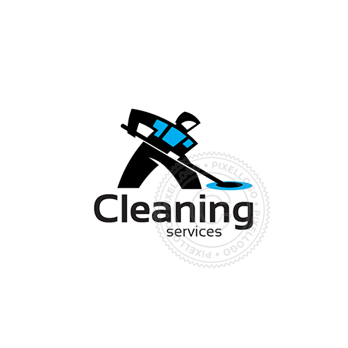 Cleaning Services-Logo Template-Pixellogo